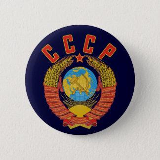 Manteau soviétique de bouton des bras CCCP Badges