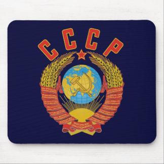 Manteau soviétique de mousepad des bras CCCP Tapis De Souris