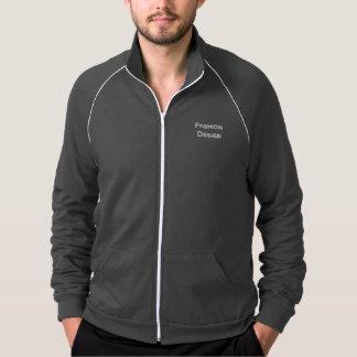 Manteau sportif d'hommes - logo de conception de veste