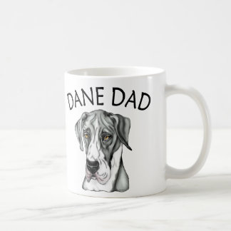 Manteau UC de papa de great dane Mug