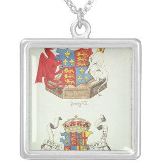 Manteaux des bras de Henry VII et d'Elizabeth de Collier