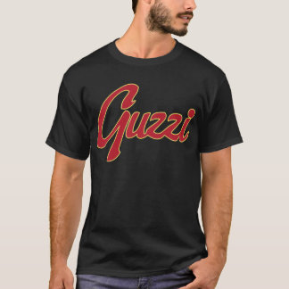 Manuscrit classique de point de Guzzi T-shirt