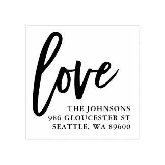 Manuscrit   d'amour marqué avec des lettres par