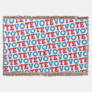 """Manuscrit de bloc couverture de jet de """"VOTE"""" -"""