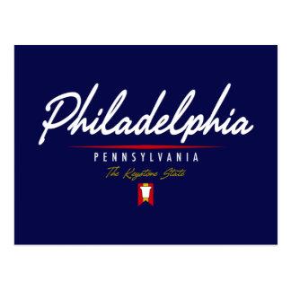 Manuscrit de Philadelphie Carte Postale