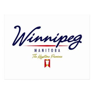 Manuscrit de Winnipeg Cartes Postales