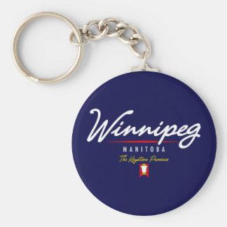 Manuscrit de Winnipeg Porte-clé Rond