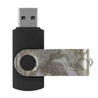 Mappemonde - carte de globe clé USB 2.0 swivel