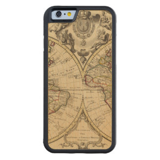 Mappemonde Coque iPhone 6 Bumper En Érable