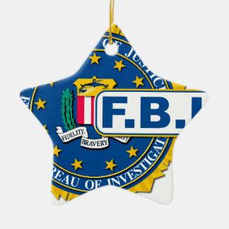 Maquette de joint de FBI Ornement Étoile En Céramique
