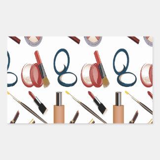 Maquillage Autocollant En Rectangle
