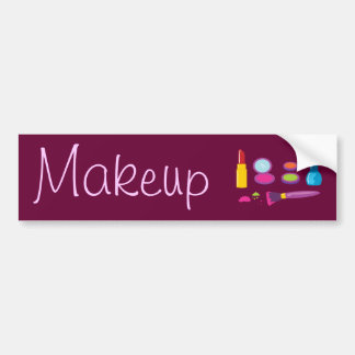 Maquillage coloré autocollant pour voiture