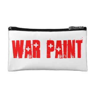 Maquillage de peinture de guerre trousses de toilette