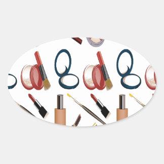 Maquillage Sticker Ovale