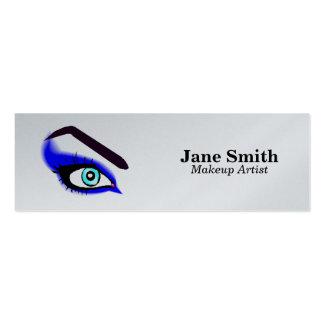 Maquilleur/cirage de sourcil carte de visite petit format
