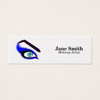 Maquilleur/cirage de sourcil mini carte de visite