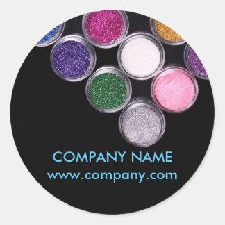 maquilleur coloré de salon de beauté de SPA de Sticker Rond