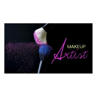 Maquilleur cosmétologie carte de visite de salon