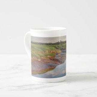 Marais de Musquash - tasse de porcelaine tendre
