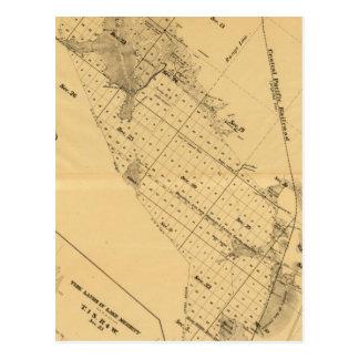 Marais de sel de Baie de San Franciso Cartes Postales