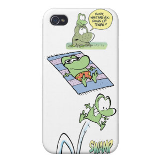 Marais Mort la grenouille Coque iPhone 4/4S