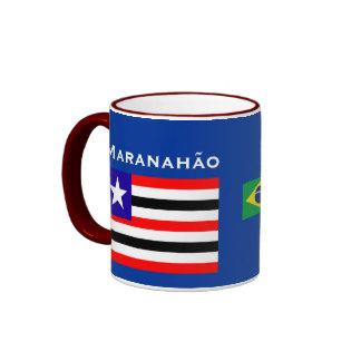 Maranhão Brésil Mug Caneca de Maranhão