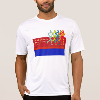 marathon. sportif t-shirt