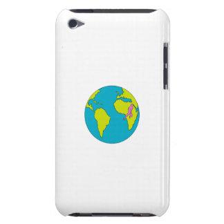Marathonien courant l'Amérique du Sud Afrique Coques iPod Touch