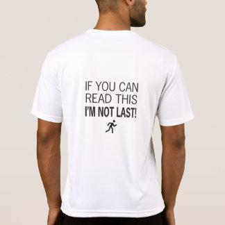 Marathonien si vous pouvez lire ceci t-shirt