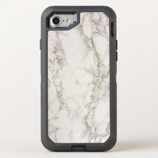 Marbre blanc coque otterbox defender pour iPhone 7