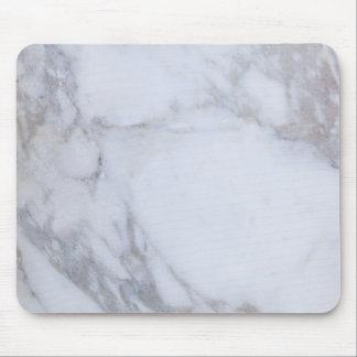 Marbre blanc tapis de souris