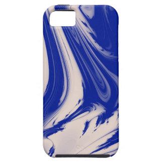 Marbre bleu 2 coque iPhone 5