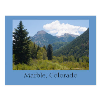 Marbre, le Colorado Carte Postale