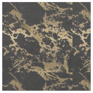 Marbre moderne impressionnant de noir de tissu