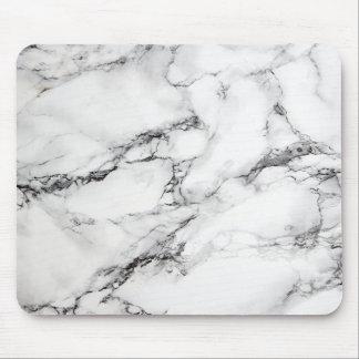 marbre noir et blanc tapis de souris