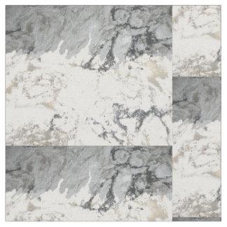 Tissu marbre blanc personnalisable pour loisirs cr atifs zazzle - Marbre noir et blanc ...