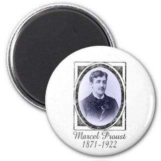 Marcel Proust Magnet Rond 8 Cm