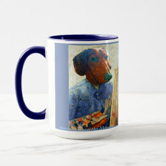 Marcello van Dogh tasse d'art de 15 onces