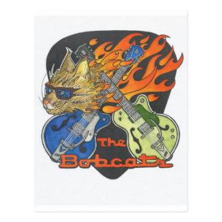 Marchandises de chats sauvages carte postale