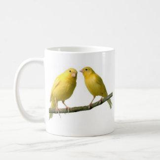 Marchandises d'oiseau jaune canari d'animal mug