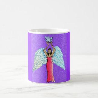 Marchandises en cristal d'ange mug