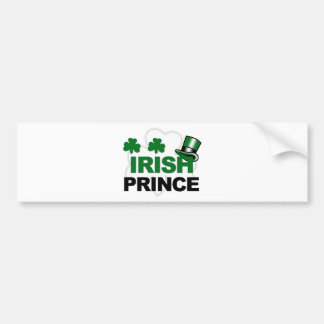 marchandises irlandaises de prince autocollant pour voiture