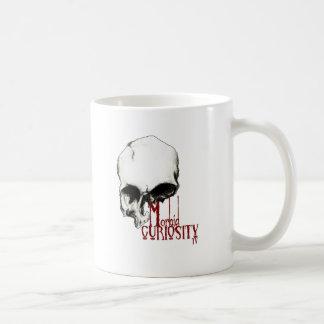 Marchandises officielles morbides de la curiosité mug