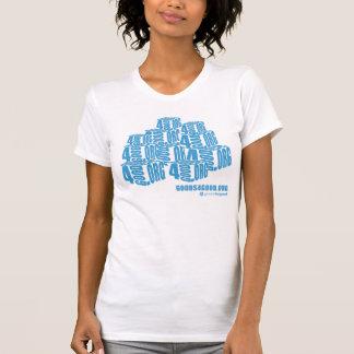 Marchandises pour le T-shirt vintage des bonnes