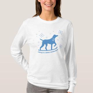 Marche au pays des merveilles d'hiver t-shirt