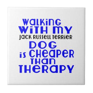 Marche avec mes conceptions de chien de Jack Petit Carreau Carré