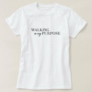 Marche dans mon T-shirt de but