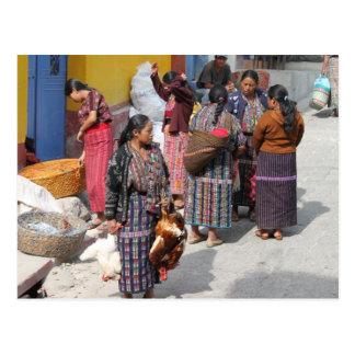 Marché de l'Amérique Centrale - marché du Carte Postale