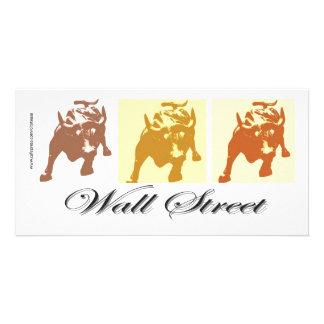 Marché haussier de Wall Street Cartes Avec Photo