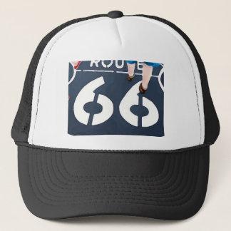 Marche sur l'itinéraire 66 casquette